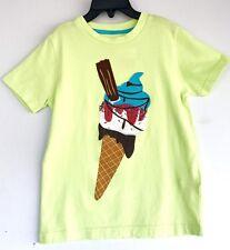 Boden Mädchen Hübsch Langarm Hemd Rock Cherry-Ice-Cream-Elephants Neu Alter 2-12