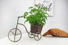 Metal Bicycle Planter Holder - Indoor and Outdoor Planter