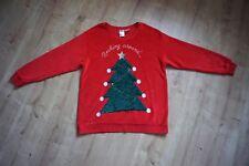 flauschiger Weihnachtspullover von H&M // Größe: L