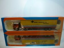 TEKNO HOLLAND SCANIA 141 TRUCK + TRAILER - TIELBEKE 1:50 - VERY GOOD IN BOX