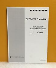 Furuno 0ME-56350-J2 Inmarsat-C Mobile Earth Station FELCOM15 Operator's Manual