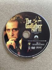 The Godfather Part Iii (Dvd, 2004) Disc Only - No Tracking
