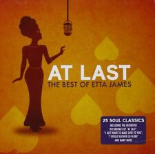 ETTA JAMES: AT LAST THE VERY BEST OF CD 25 GREATEST HITS / NEW
