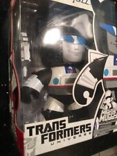 "TRANSFORMERS MIGHTY MUGGS Collection_Autobot JAZZ 6"" Vinyl figure New"