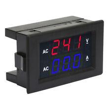 Led Digital Display Ac 100300v Current Voltmeter Head 0 10a Ampere Meter