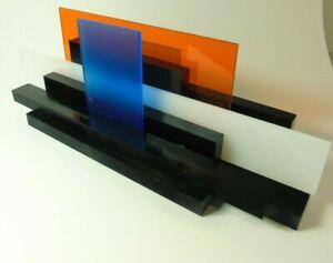 Max Gerhard  Konkrete Kunst Raumskulptur aus verschiedenfarbigem Acryl Skulptur