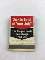 Vintage Cleveland Institute of Electronics Promotional Mail-in Matchbook