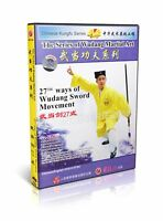 Chinese Kungfu Martial Art  27th ways of Wudang Sword Movement by Yue Wu DVD