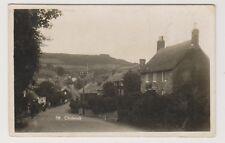 Dorset postcard - Chideock - RP - P/U