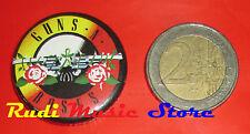 SPILLA pins GUNS N' ROSES axl rose 3x3 cd dvd lp mc vhs