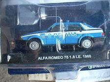 ALFA ROMEO 75 1.8 I.E 1988 POLIZIA SCALA 143