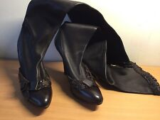 Ysl Boots, Brown , Over Knees, New, Size 37,5 Stunning!