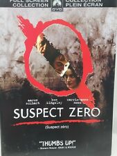 Suspect Zero DVD Movie Aaron Eckhart, Ben Kingsley *New Case Cleaned Tested*1089