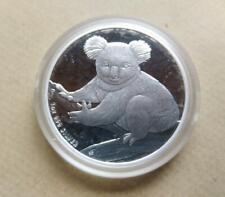 1oz Australian .999 SILVER Koala 2009 $1 BU bullion coin in capsule.