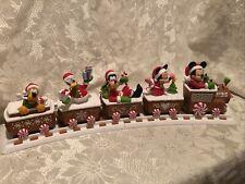 Hallmark 2016 Disney Christmas Train With Tracks