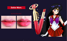 Sailor Moon Miracle Romance Makeup Moisture Mars Lipstick Pen Red Color 2017 New