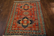 """ANTIQUE HAND WOVEN PERSIAN  SERAPI RUG 3'3""""X4'6"""" FROM C 1880"""