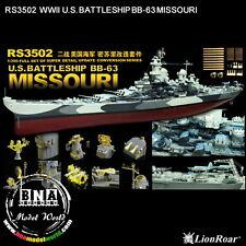 LionRoar 1/350 US Battleship BB-63 Missouri Conversion Set #RS3502