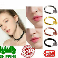 Retractable Earrings-No need piercing Unisex Classic Hip-hop Style AU