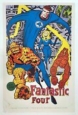 FANTASTIC FOUR Marvelmania Poster RARE Vintage MARVEL 1st PRINTING 1969 not 1970