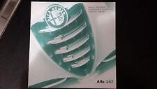 Depliant Brochure Alfa Romeo ALFA 147 - 2001 - pagine 16  Perfetto  Edicola