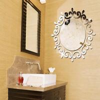 Hot New Circles Mirror Removable Decal Stlye Vinyl Art Wall Sticker Home Decor @