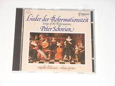 Peter Schreier - CD - Lieder der Reformationszeit - JOHANN WALTER - A. PUSCHMANN