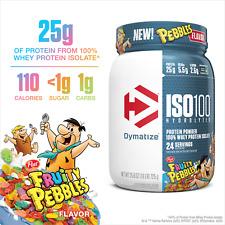 Dymatize ISO100 Hydrolyzed Protein Powder, 100% Whey Isolate Protein, 25g Of