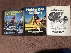 Hobie Cat books (3)