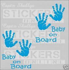 BABY HANDPRINTS Decals 110 5mm Capt'n Skullys Stickers Online MPN 1316 M/PURPOSE