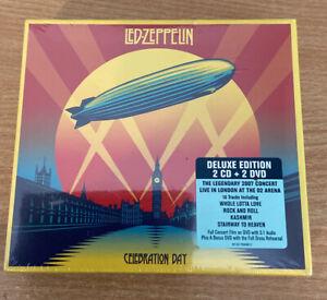 Led Zeppelin Celebration Day Deluxe Edition 2cd & 2 Dvd Box Set