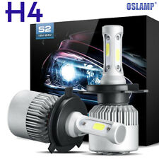 CREE COB H4 HB2 9003 980W 147000LM LED Headlight Kit Hi/Lo Power Bulbs 6000K