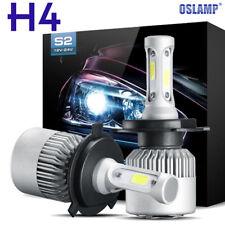 CREE COB H4 HB2 9003 980W 147000LM LED Headlight Kit Hi/Lo Power Bulbs 6000K