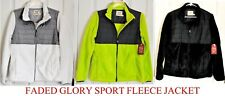 New Ladies Women's Sport Fleece Jacket Sweater Coats Soft Warm - Choose Colors