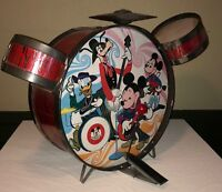 Mickey Mouse Club Drum Set Vintage 1960's Rare Walt Disney Children's Toy Kit