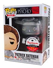 Funko Pop #942 Metallic Patrick Bateman American Psycho Funhouse Custom 1/20