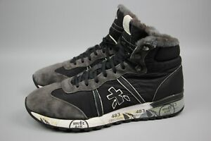 Premiata Alan 2638 Winter High Top Sneakers Nylon and Suede for men Size 44