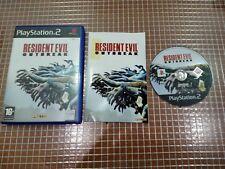 PS2 RESIDENT EVIL OUTBREAK  PAL ESPAÑA COMPLETO PLAYSTATION 2 SONY CAPCOM