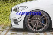 Carbon Fiber Front Spoiler Splitter Diffuser Canard 4pcs/Set For BWM F22 AF-0411