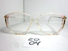 Elegant Optical Vintage 1980's Sun/Eyeglasses #Tess White, Black, Gold (Eo-04)