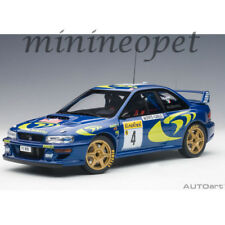 AUTOart 89791 SUBARU IMPREZA WRC 1997 #4 RALLY OF MONTE CARLO 1/18 MODEL BLUE