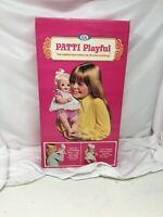 Vintage Ideal Patti Playful Baby Doll Brand New Never Taken Out Of Box