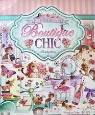 24 x A6 TOPPERS FROM HUNKYDORY - LITTLE BOOK OF BOUTIQUE CHIC CARDMAKING CRAFT