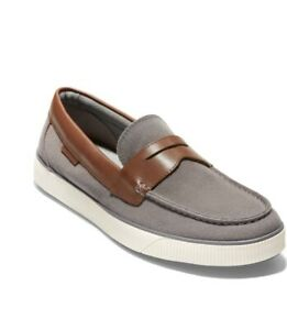 Cole Haan-Nantucket 2.0 Penny Loafer-Color:Grey Textile- Men's Size 11- New!