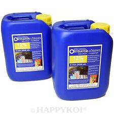 Söchting Oxydator 2er SET á 5 Liter 12% LÖSUNG - Sauerstoff Ausströmer Koi Teich