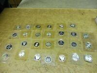 27 x 5 DM Gedenkmünzen Silber , alle PP / PROOF im Folder , Investorenpaket