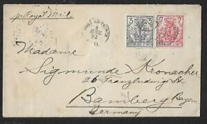 HAITI TO GERMANY NICE COVER 1892