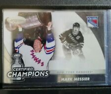 11-12 CERTIFIED CHAMPIONS MARK MESSIER