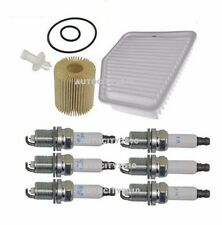 FOR LEXUS GS300 3.0i SERVICE PARTS OIL/AIR FILTERS + 6pc SPARK PLUGS KIT 05-11