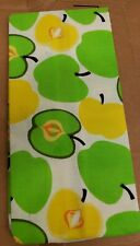 """Ironing Board Cover, 47""""x15"""" For Smaller Boards (43"""") Yellow & Green Apples, Lh"""